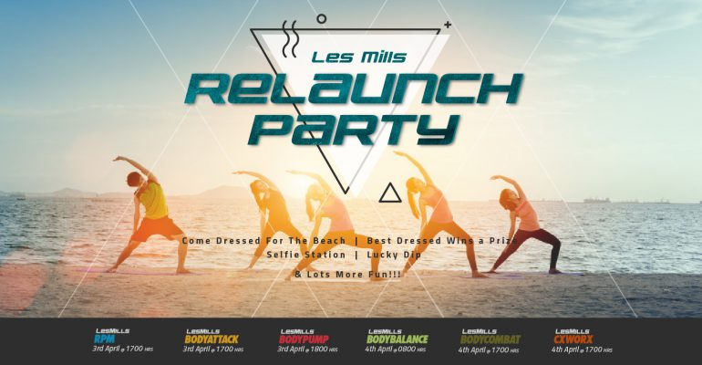 Les Mills Relaunch Party