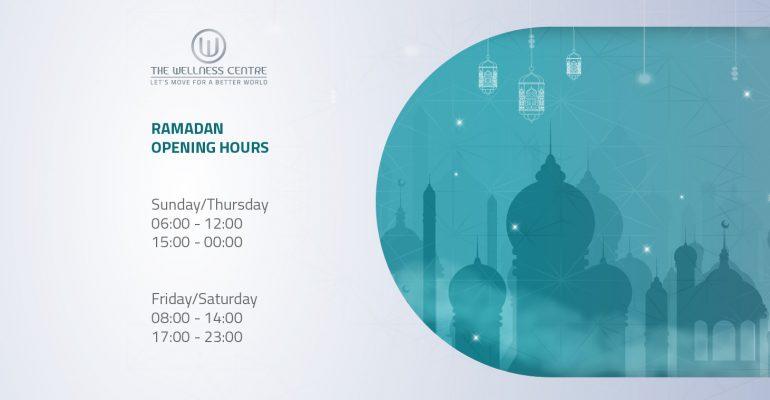 Ramadan Opening Hours